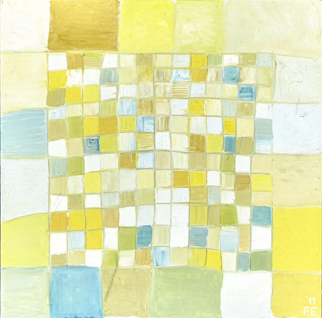 ThisCloth - 60 x 60 - Oil on panel - May 2011